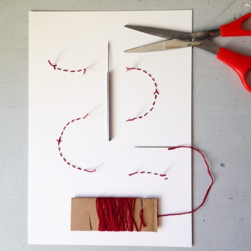 map prints sewing and seeing abstract faces