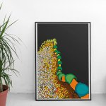 For the Architects out there. I love the range of art prints from EyeforLondonPrints. Especially this Gaudi