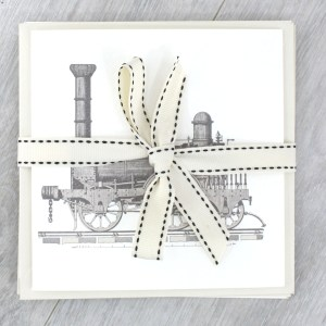 train vintage locamotive greeting cards