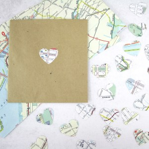 nyc map confetti pack of 50 six0six design