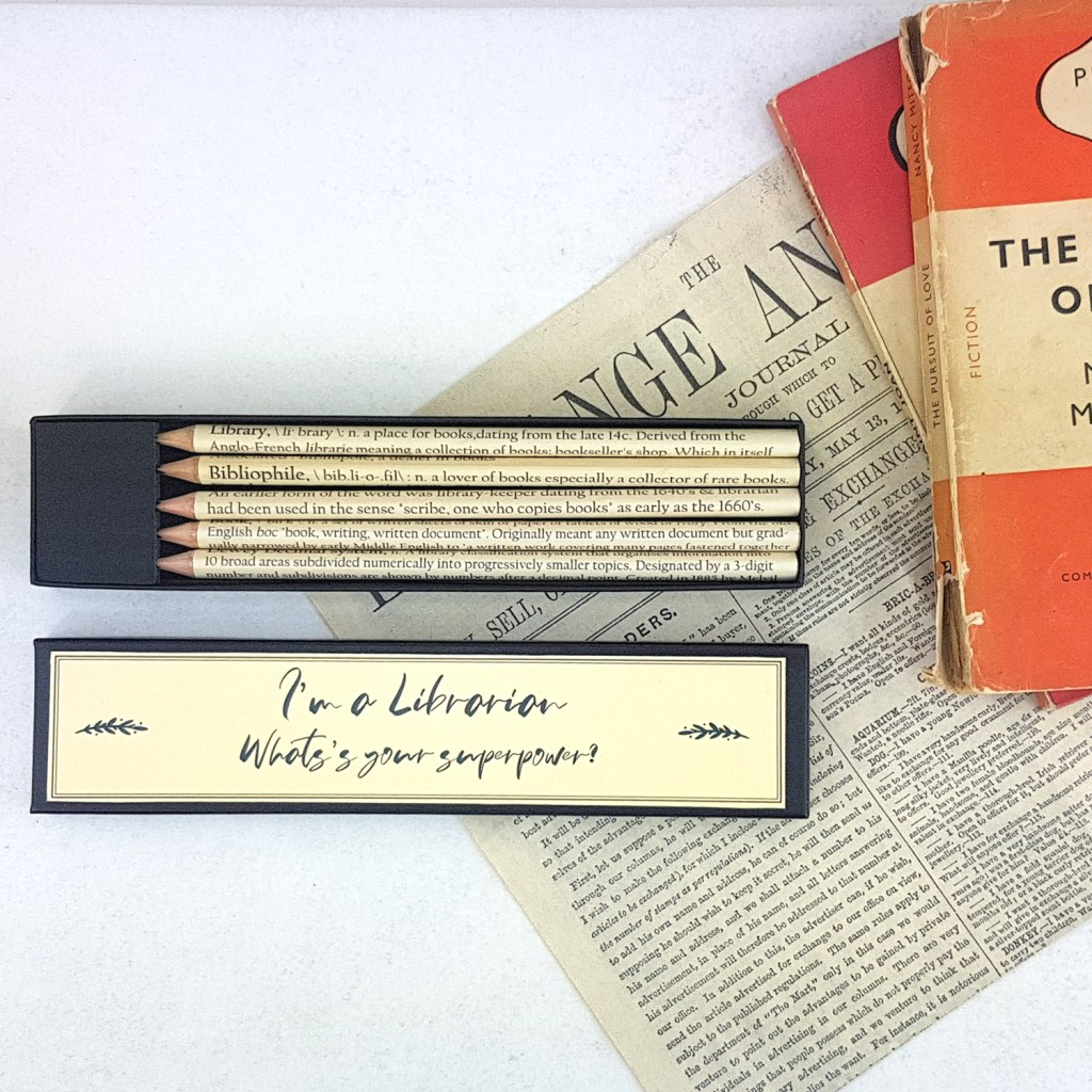 I'm a librarian what's your superpower pencil set. Library, Bibliophile, Librarian, Book, Dewey Decimal