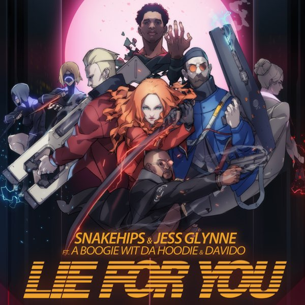 Snakehips and Jess Glynne Lie For You art 1