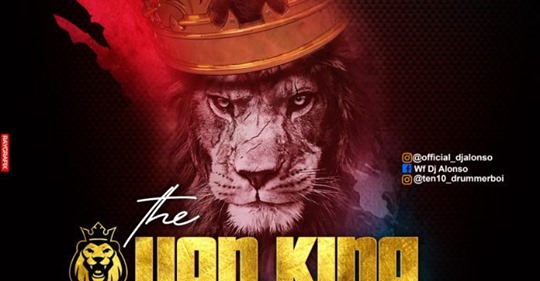 DJ Alonso – Volume 3 of the Lion King Mixtape 1