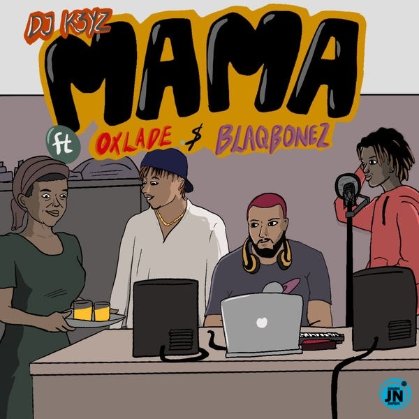 DJ K3yz Mama artwork