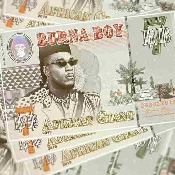 BURNA BOY – AFRICAN GIANT INSTRUMENTAL 1