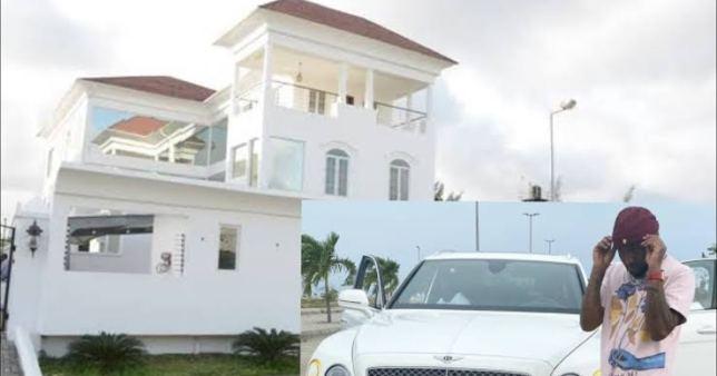 Have a look at Davidos new apartment in Banana island