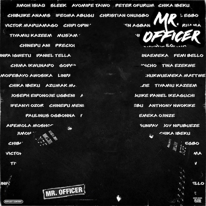 Phizbarz – Mr Officer