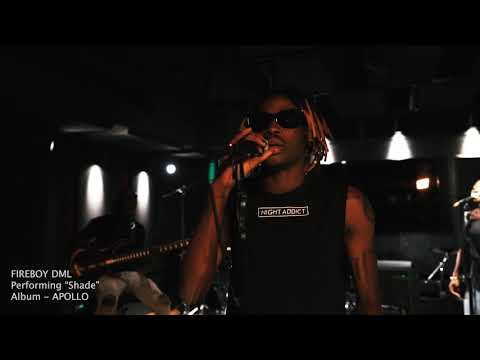 """Fireboy DML – """"Shade"""" (Acoustic Session) (Mp3 Download)"""