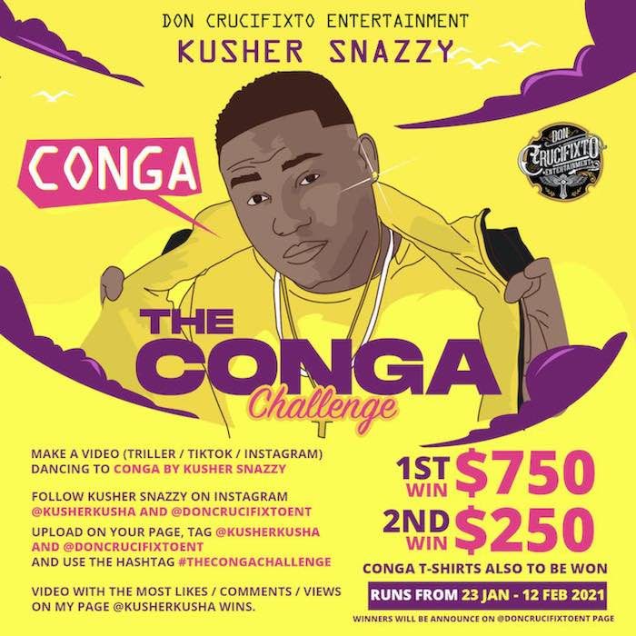 Kusher Snazzy Conga Mp3 Download