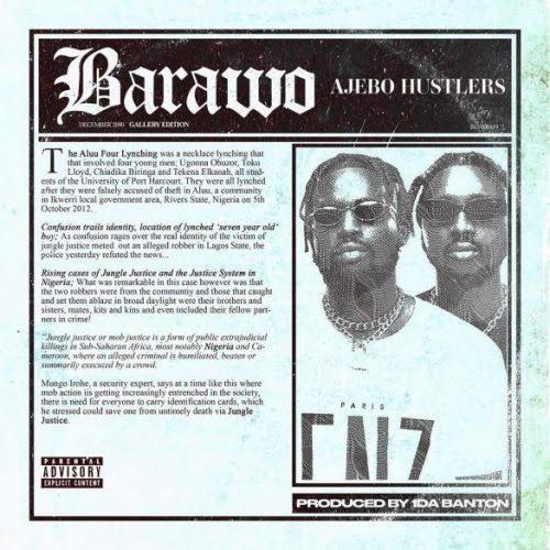Ajebo Hustlers – Barawo Instrumental Mp3 Download