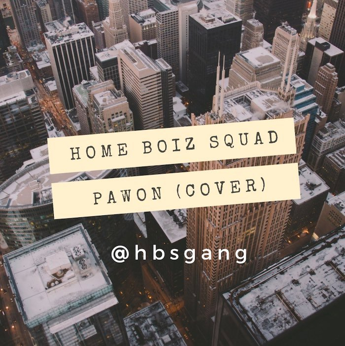 Home Boiz Squad – Pawon Cover