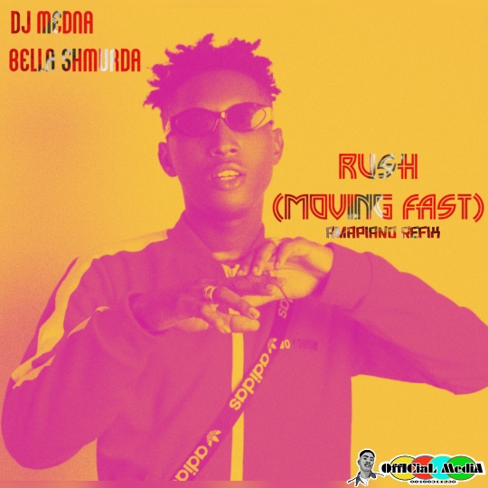 DJ Medna ,Dangbana Republik x Bella Shmurda Rush Amapiano Refix mp3 download