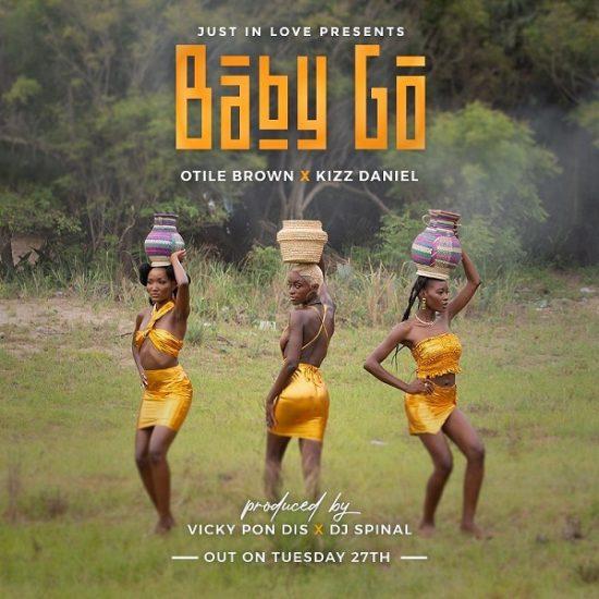Otile Brown Baby Go ft Kizz Daniel mp3 download