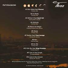 Patoranking Three Album mp3 download