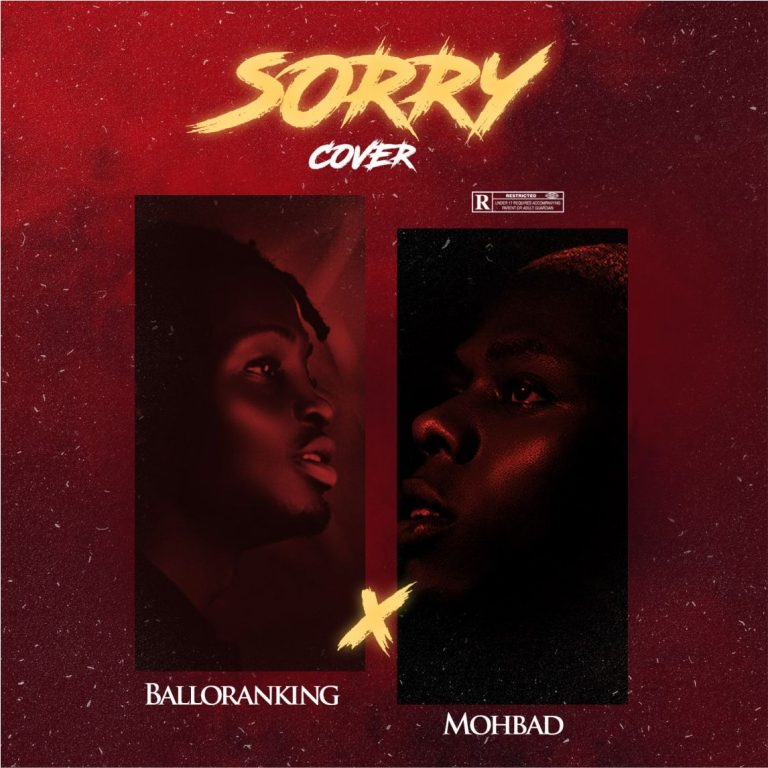 Balloranking Sorry (Cover) Ft. Mohbad mp3 download