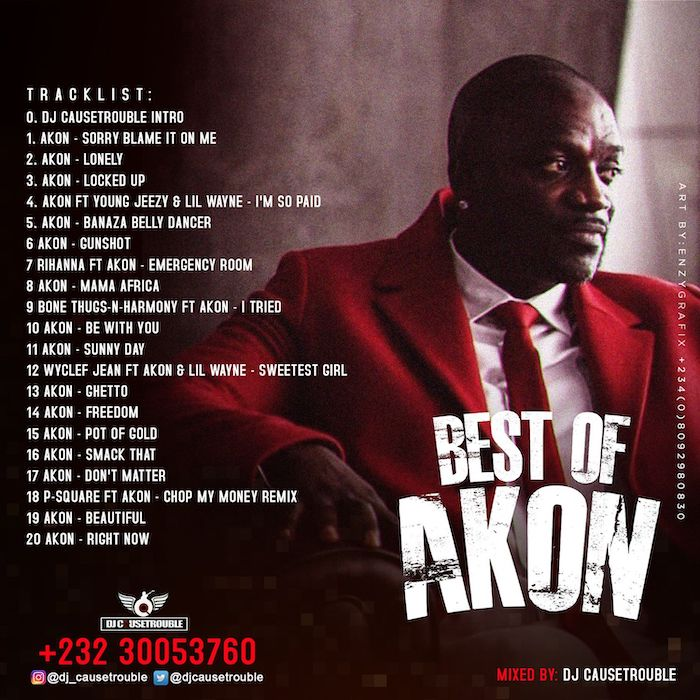 DJ Causetrouble Best Of Akon mp3 download