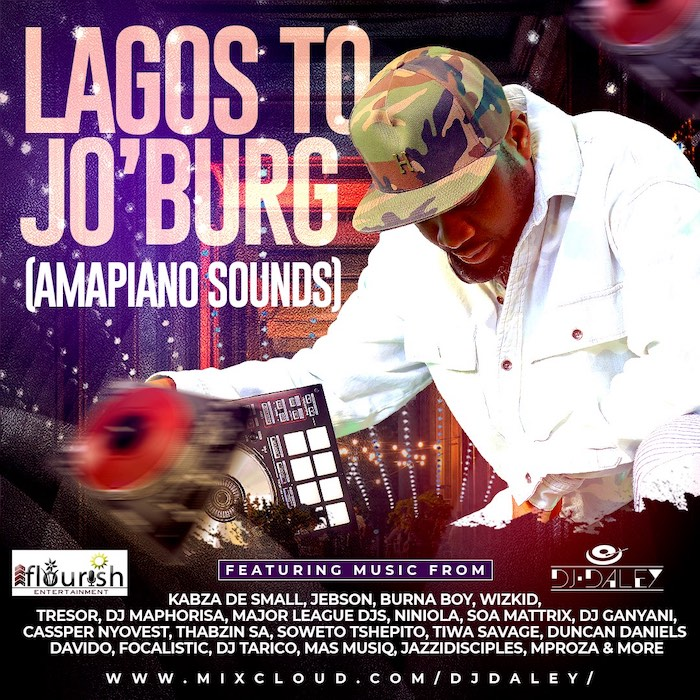DJ Daley Lagos To Jo'Burg (Amapiano Sounds) mp3 download