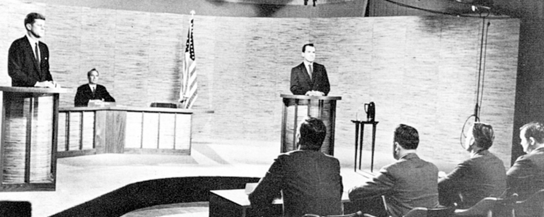 1960 Kennedy-Nixon Debate (Source: Wikimedia Commons)