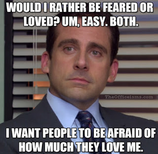 "Michael Scott from ""The Office"" (Source: The Officeisms.com)"