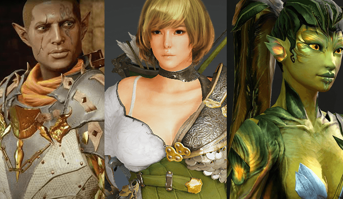 Various Video Game Characters (Source: Remeshed)