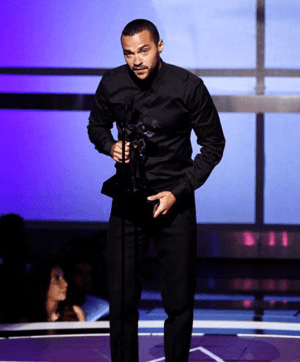 Jesse Williams at the 2016 BET Awards (Source: Kevin Winter/Refinery29)