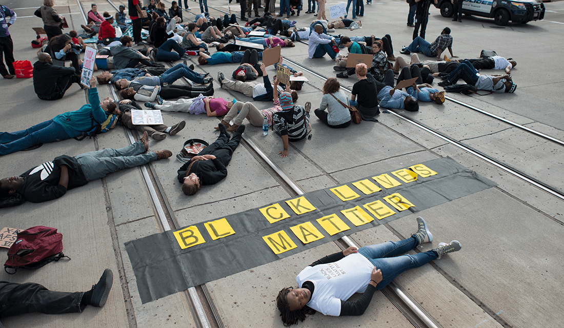 Black Lives Matter protest (Source: Fibonacci Blue/Wikimedia Commons)