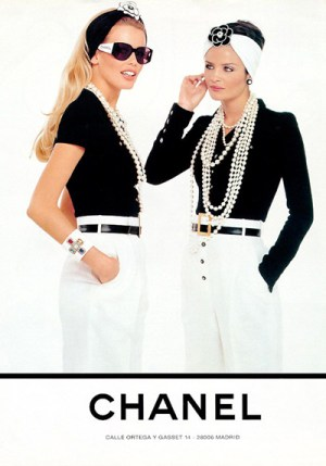 Chanel Ad (Source: Simply Frabulous)
