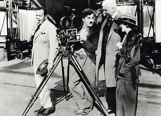 Charlie Chaplin (Source: Glogster)