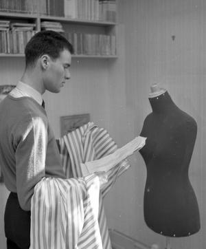 Designer at Work (Source: National Archives of Norway/Flickr)