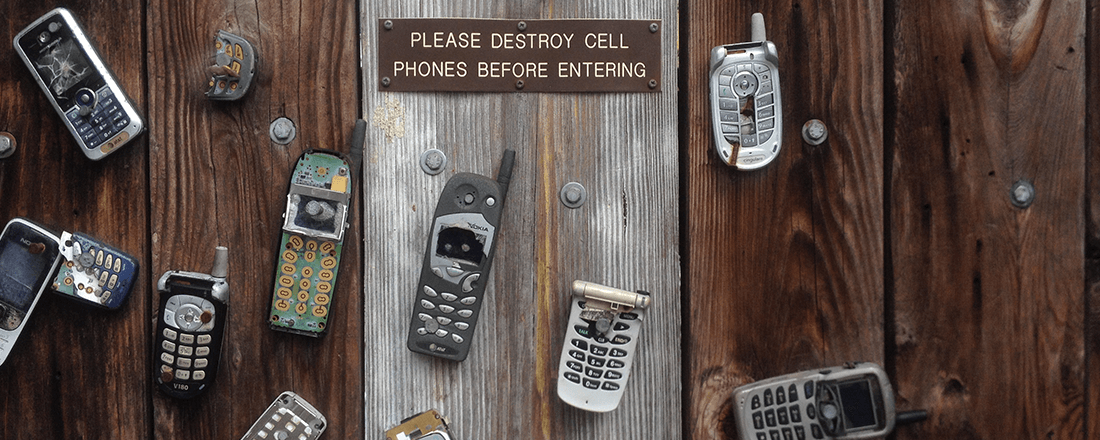 Destroy the Cell Phones