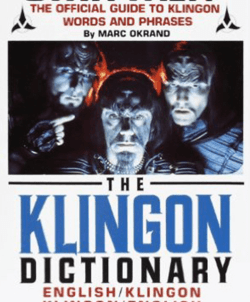 The Klingon Dictionary (Source: Amazon)