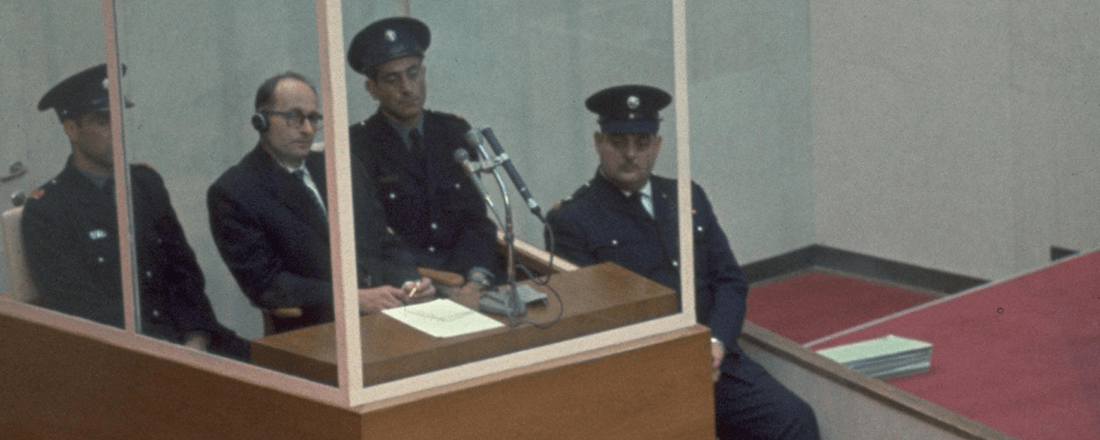 The Trial of Adolf Eichmann (Source: Wikimedia Commons)