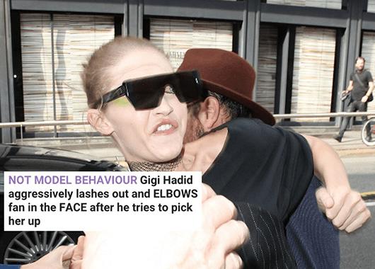 Gigi Hadid Attacked by Vitalii Sediuk (Source: Junkee)