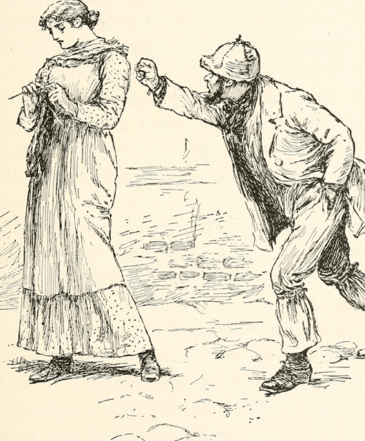 Unsolicited Attention (Source: Internet Archive Book Images/Flickr)