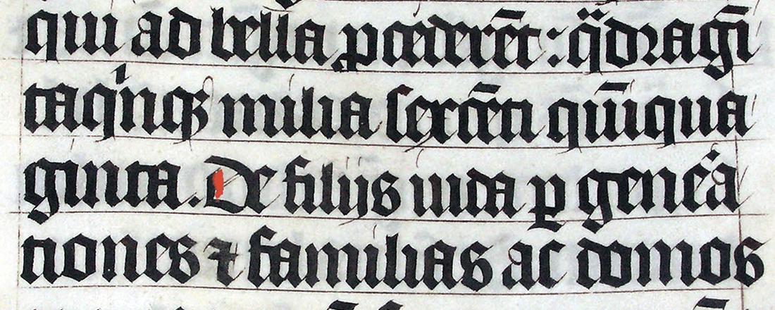 1407 Latin Malmesbury Bible (Source: Wikimedia Commons)