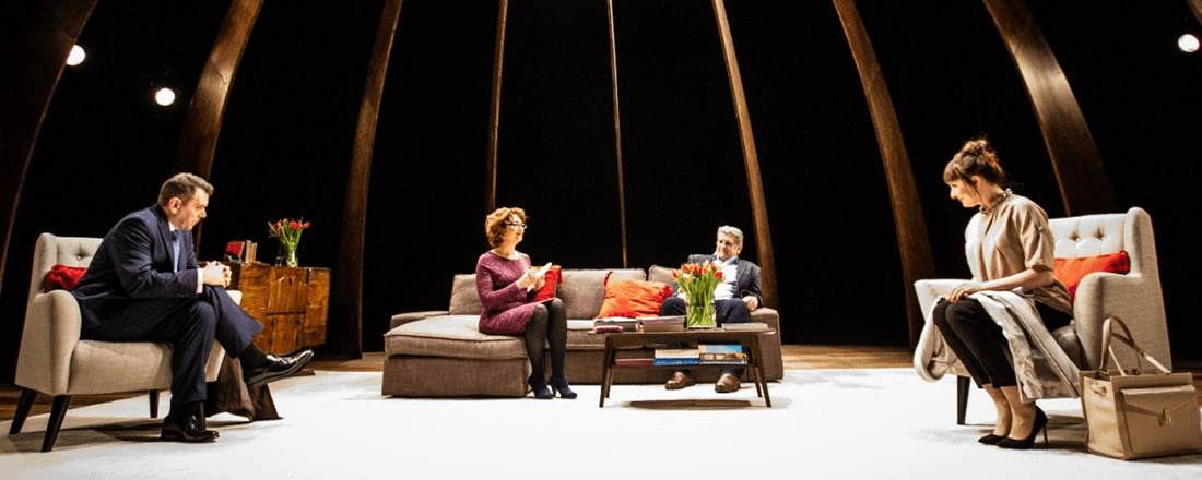 "2015 production of ""God of Carnage"" at the MAC in Belfast, Northern Ireland (Source: The MAC)"