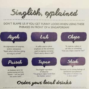 Singlish Slang (Source: Hafiz/Instagram)
