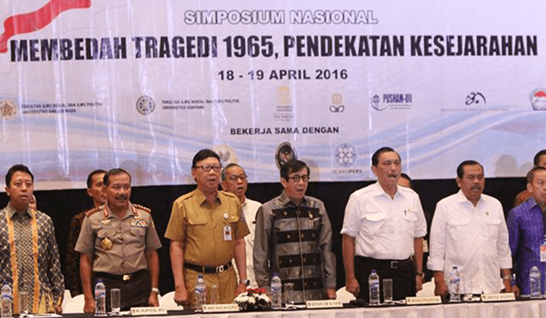 April 18, 2016 National Symposium on the 1965-66 Massacre (Source: Tribunnews.com/Kompas)