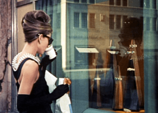 Audrey Hepburn in Breakfast at Tiffany's (Source: Wikimedia Commons)