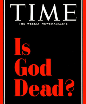 """TIME's iconic """"Is God Dead?"""" cover (Source: Wikimedia Commons)"""