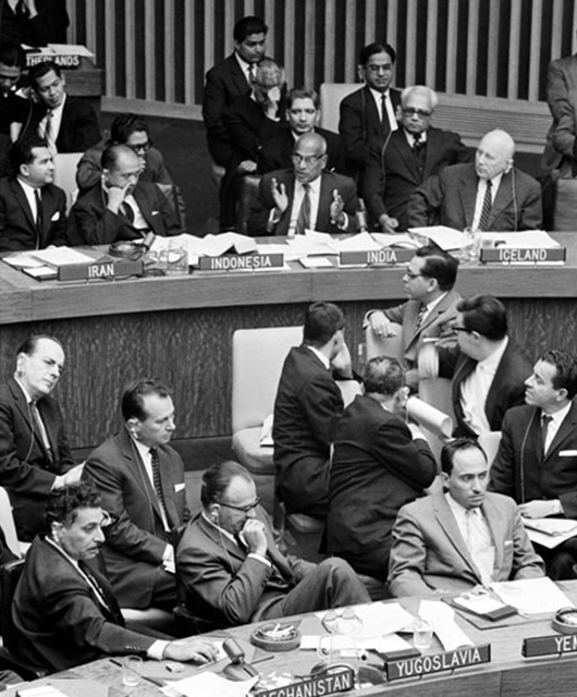 1961 UN Nuclear Ban Meeting (Source: UN Audiovisual Library of International Law)