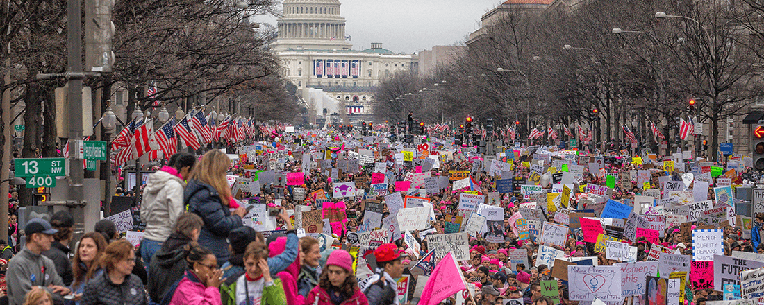 Women's March on Washington (Source: Mobilus in Mobili/Wikimedia Commons)