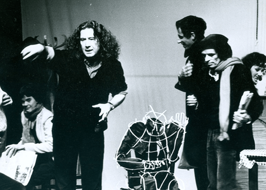 Boal Leading a Workshop (Source: Augusto Boal Archive UNIRIO)