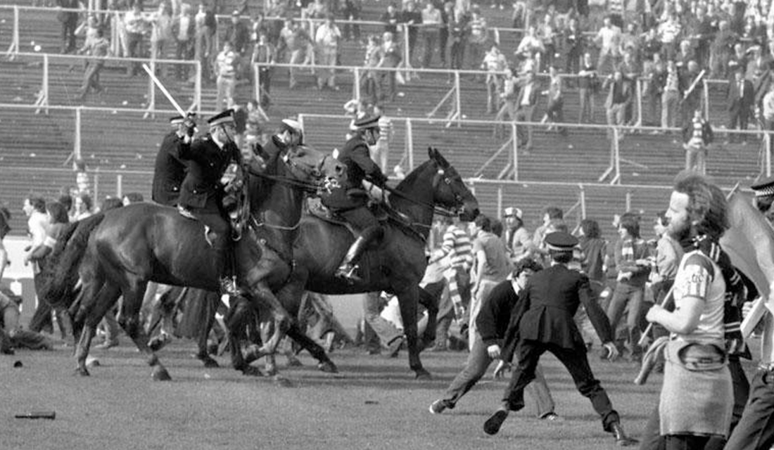 1980 Old Firm Derby (Source: Football Violence)