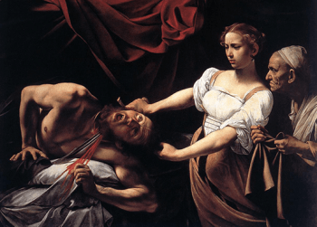"""Judith Beheading Holofernes"" by Caravaggio (Source: Wikimedia Commons)"