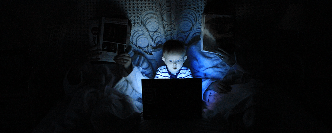 Baby Surfing the Internet