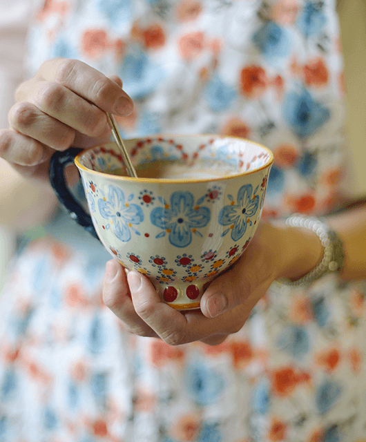 Apron and Teacup