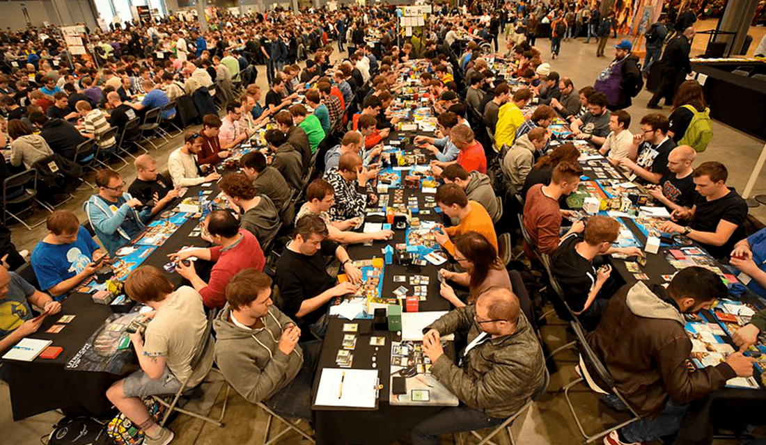 Magic: The Gathering Tournament (Source: Spikey Bits)
