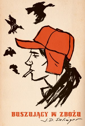 """M. S. Corley, """"Catcher in the Rye"""" (entry for the 50 Watts' Polish Book Cover Contest) (Source: Will/Flickr)"""