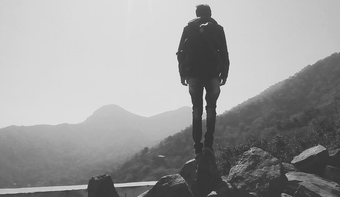 Standing at a Precipice